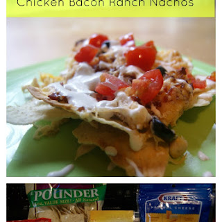 Chicken Bacon Ranch Nachos