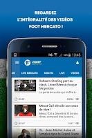 Screenshot of Foot Mercato