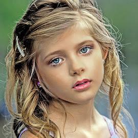 Chloe by Sylvester Fourroux - Babies & Children Child Portraits