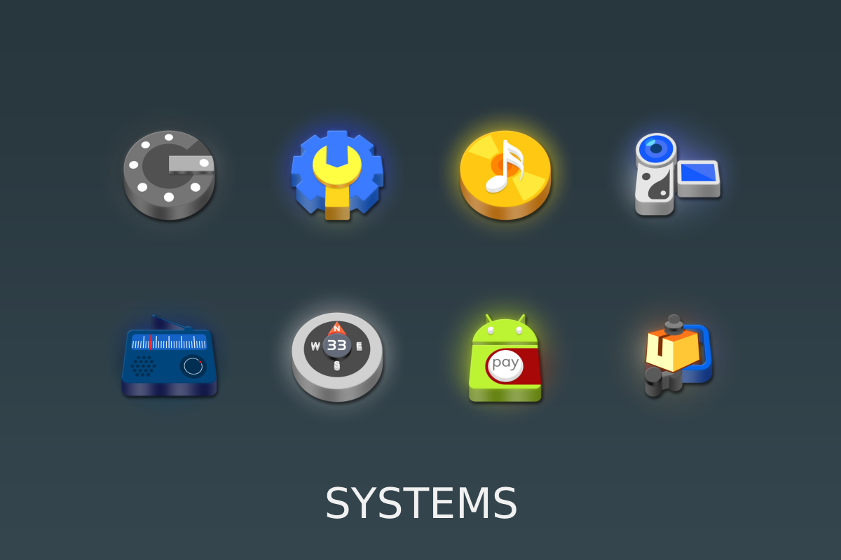 LED 3D Icon Pack Screenshot 15