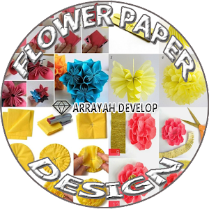 Flower Papper Design for PC-Windows 7,8,10 and Mac