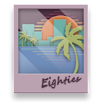 Eighties fun icon pack For PC (Windows And Mac)