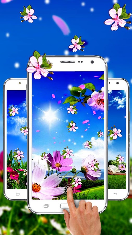 Frühlingsblume Live Wallpaper android apps download