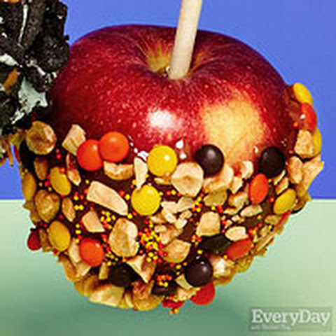 Sprinkles & Nuts Caramel Apples