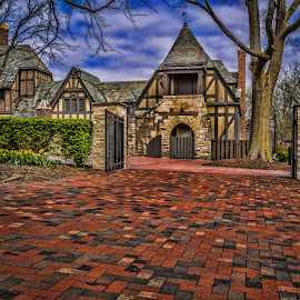 The Manor by James Kirk - Buildings & Architecture Public & Historical ( park, brick, stone, culture, historic, manor )