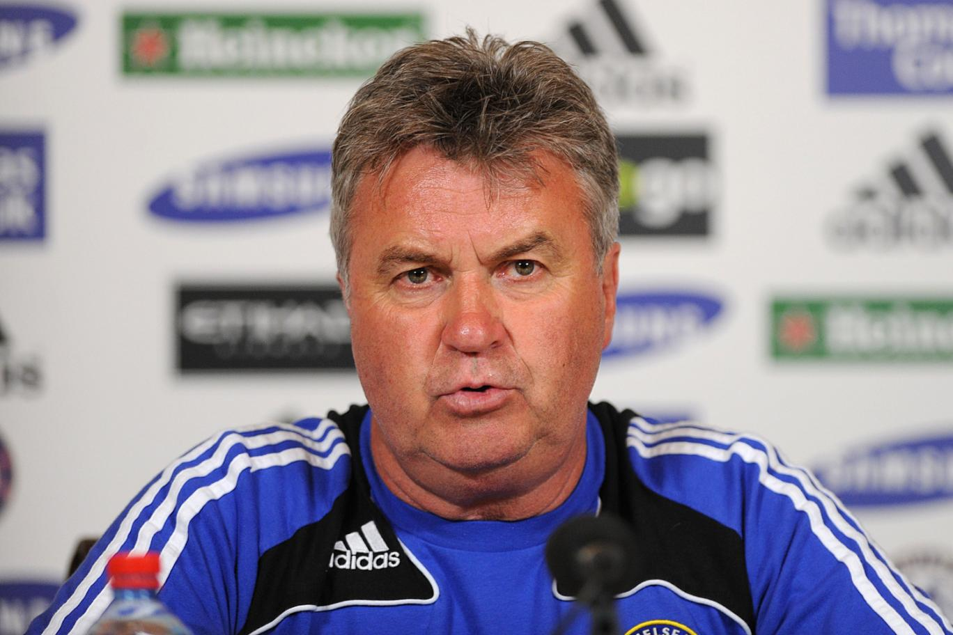 Guus Hiddink will pick team on performance not reputation
