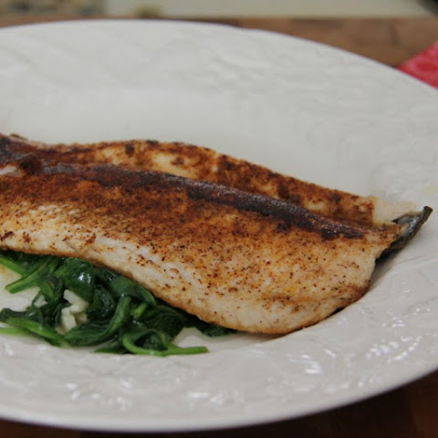 Delicious Trout with Sweet & Spicy Seasoning