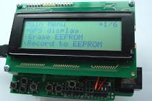 Phi-2 interactive arduino shield 2004