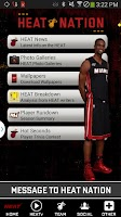 Screenshot of Miami HEAT