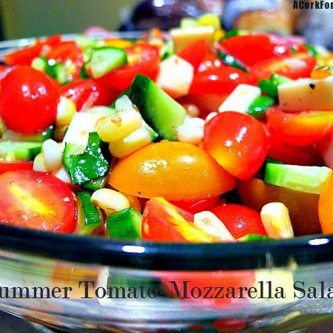 Summer Tomato-Mozzarella Salad