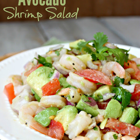 Shrimp And Avocado Salad With Edamame, Cilantro, Chipotle ...