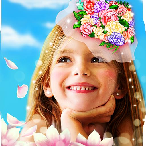 Flower Selfie Cam - pics, camera & special lenses (game)