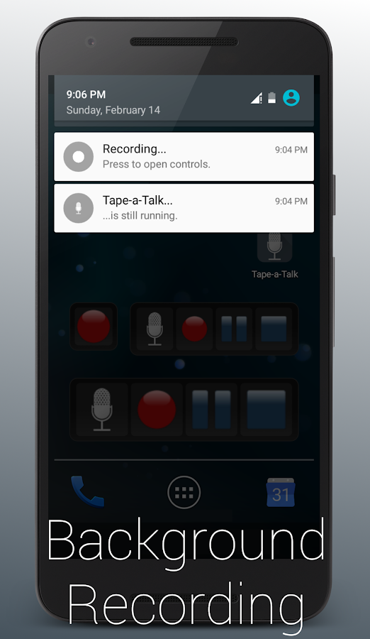 Tape-a-Talk Pro Voice Recorder Screenshot 1