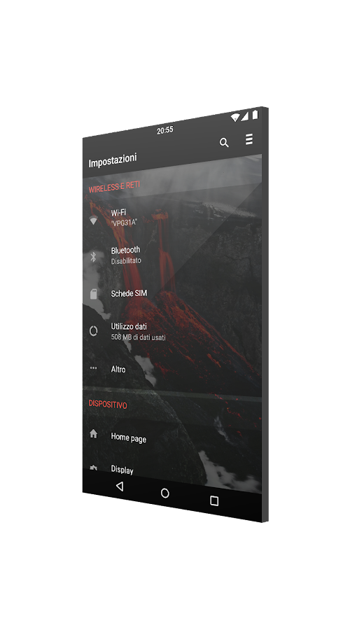 [Substratum] CommuteUI Theme Screenshot