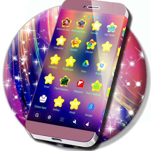 Glittering Stars Theme (app)