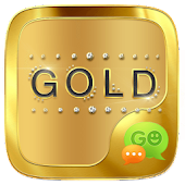 Download  (FREE) GO SMS GOLD THEME  Apk