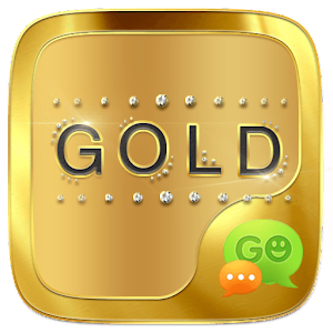 (FREE) GO SMS GOLD THEME