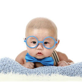 my little profresor 😆 by Sukito Cahaya - Babies & Children Babies