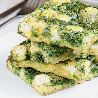 Potato, Spinach And Goat Cheese Frittata