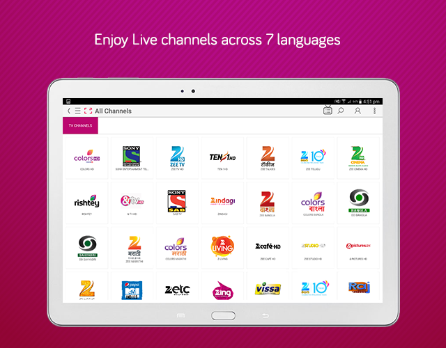 dittoTV: Live TV shows channel Screenshot 8