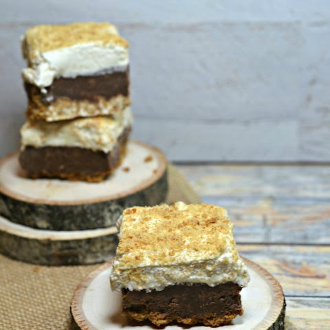 Yummy S'mores Fudge