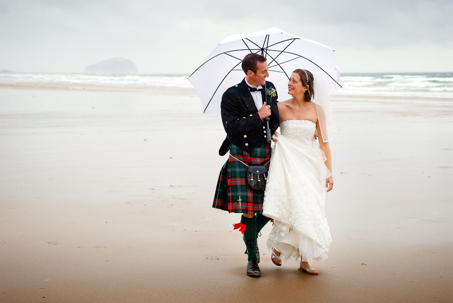by Simon Grosset - Wedding Bride & Groom