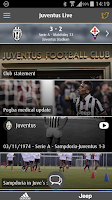 Screenshot of Juventus Live