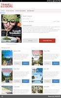 Screenshot of Travel+Leisure