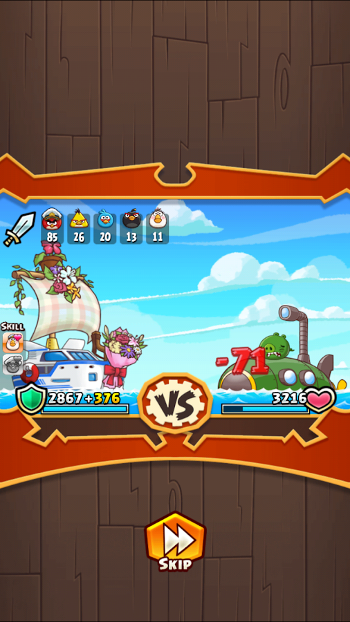 Angry Birds Fight! RPG Puzzle Screenshot 11