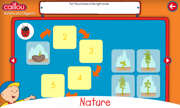 Caillou Learning For Kids APK screenshot thumbnail 3