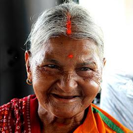 evergreen smile by Niraj Jha - People Portraits of Women (  )