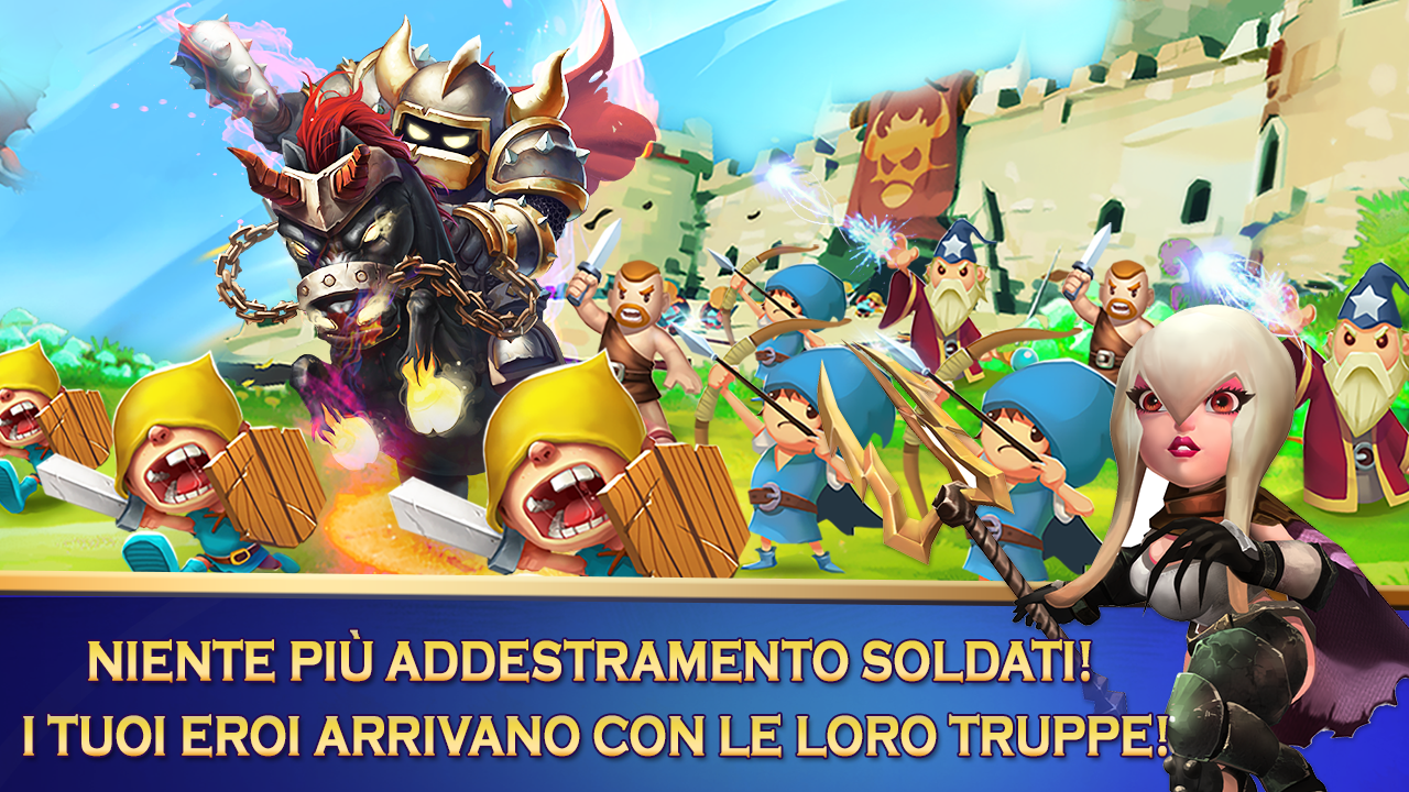 Clash of Lords 2: Italiano Screenshot 4