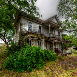 Home Beautiful by Kent Moody - Buildings & Architecture Decaying & Abandoned ( beautiful, stories, rural, farming, farm, decay, house, home )