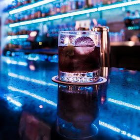 Old Fashioned Bar life by John Brock - Food & Drink Alcohol & Drinks ( happy hour, bourbon, alcohol, old fashioned, bar )