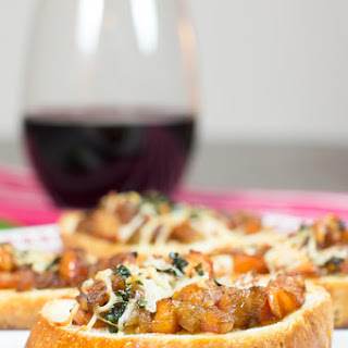 Baked Balsamic Bruschetta
