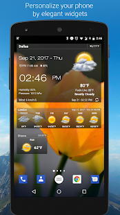 App Weather & Clock Widget for Android APK for Kindle