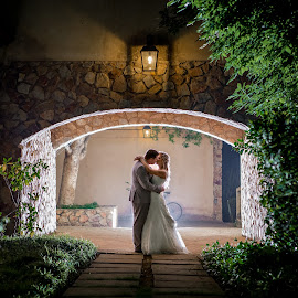 Night Kiss by Lodewyk W Goosen (LWG Photo) - Wedding Bride & Groom ( wedding photography, wedding day, weddings, wedding, bride and groom, wedding photographer, bridelgroom, bride groom )