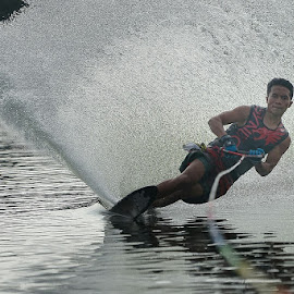 The Champion's Wave by Fuad Arief - Sports & Fitness Watersports ( water ski, ski, gresik, pon, indonesia, east java )