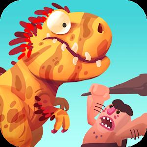Cover art Dino Bash - Dinos v Cavemen