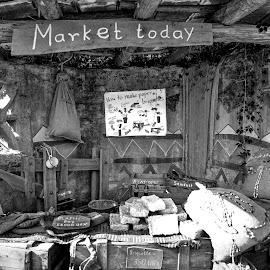 Market Today by John Ekor - Nature Up Close Gardens & Produce ( market, illusion )