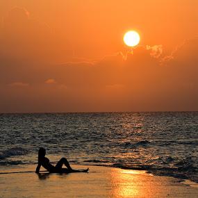 Sunset 3 by Simona Ciglenean - Landscapes Sunsets & Sunrises (  )