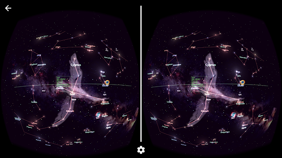 StarTracker VR -Mobile Sky Map screenshot for Android