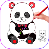 Download How to Draw Animals and cartoons APK on PC