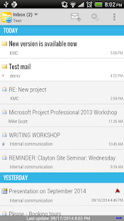 Mobile Access for Outlook OWA screenshot for Android