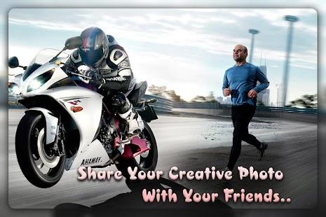 App Bike photo frame APK for Windows Phone