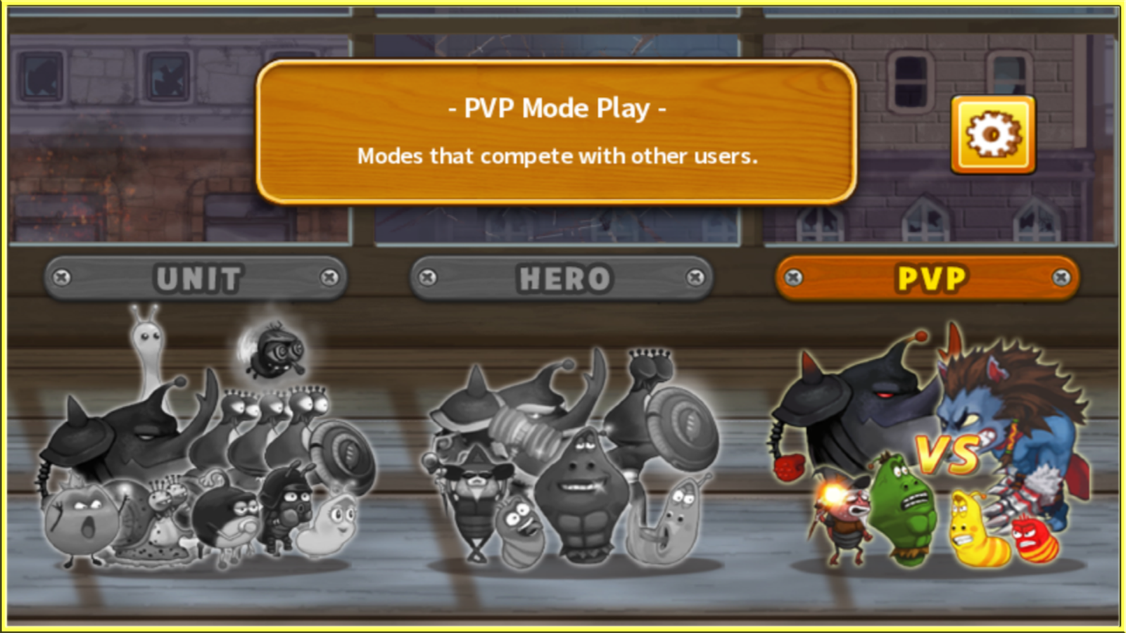 Larva Heroes : PVP Online Screenshot