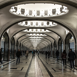 Moscow Metro by Antonello Madau - Buildings & Architecture Architectural Detail