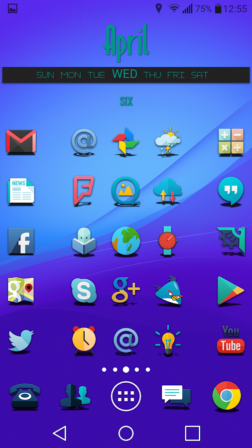 Proton - Icon Pack Screenshot 0
