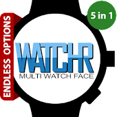 Download WatchR - Multi Watch Face APK to PC