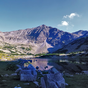 Rila Mountain by S. S. - Landscapes Mountains & Hills ( rila mountain bulgaria rock nature )